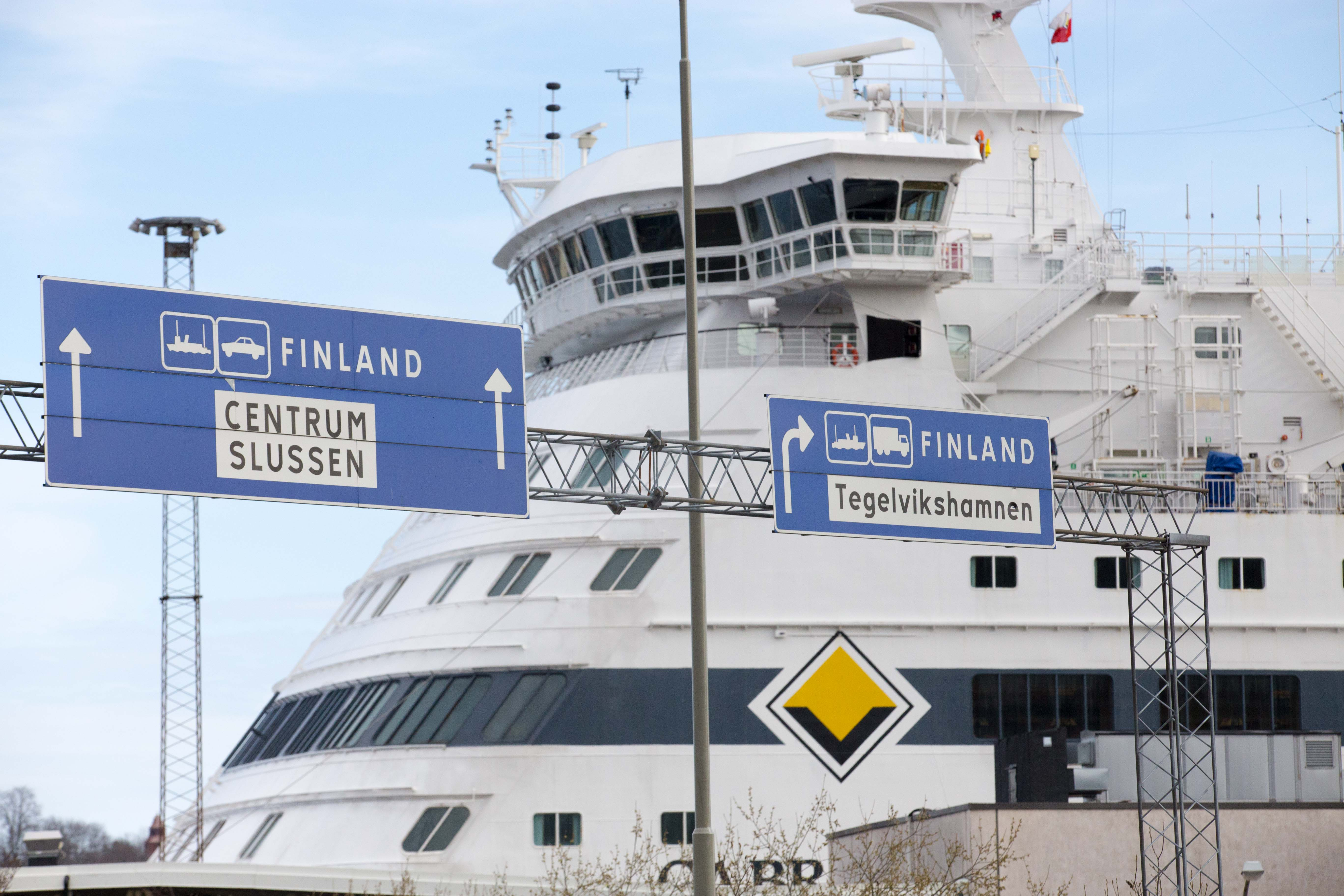 Terminal Ferry Sodermalm Stockholm