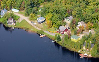 Parc de la Mauricie, Québec: survol panoramique en hydravion