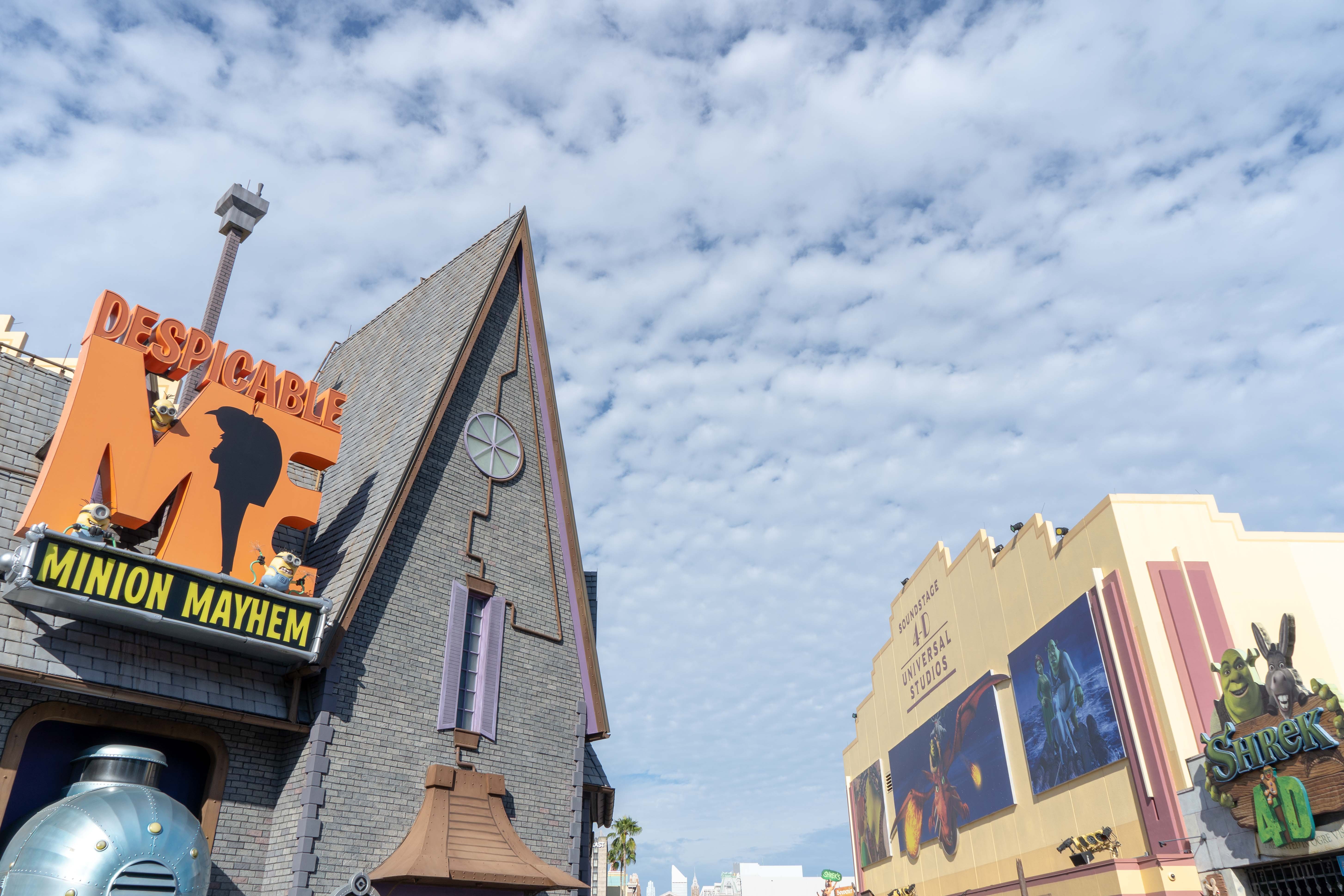 Despicable Me Minion Mayhem Universal Studios Florida Odysight