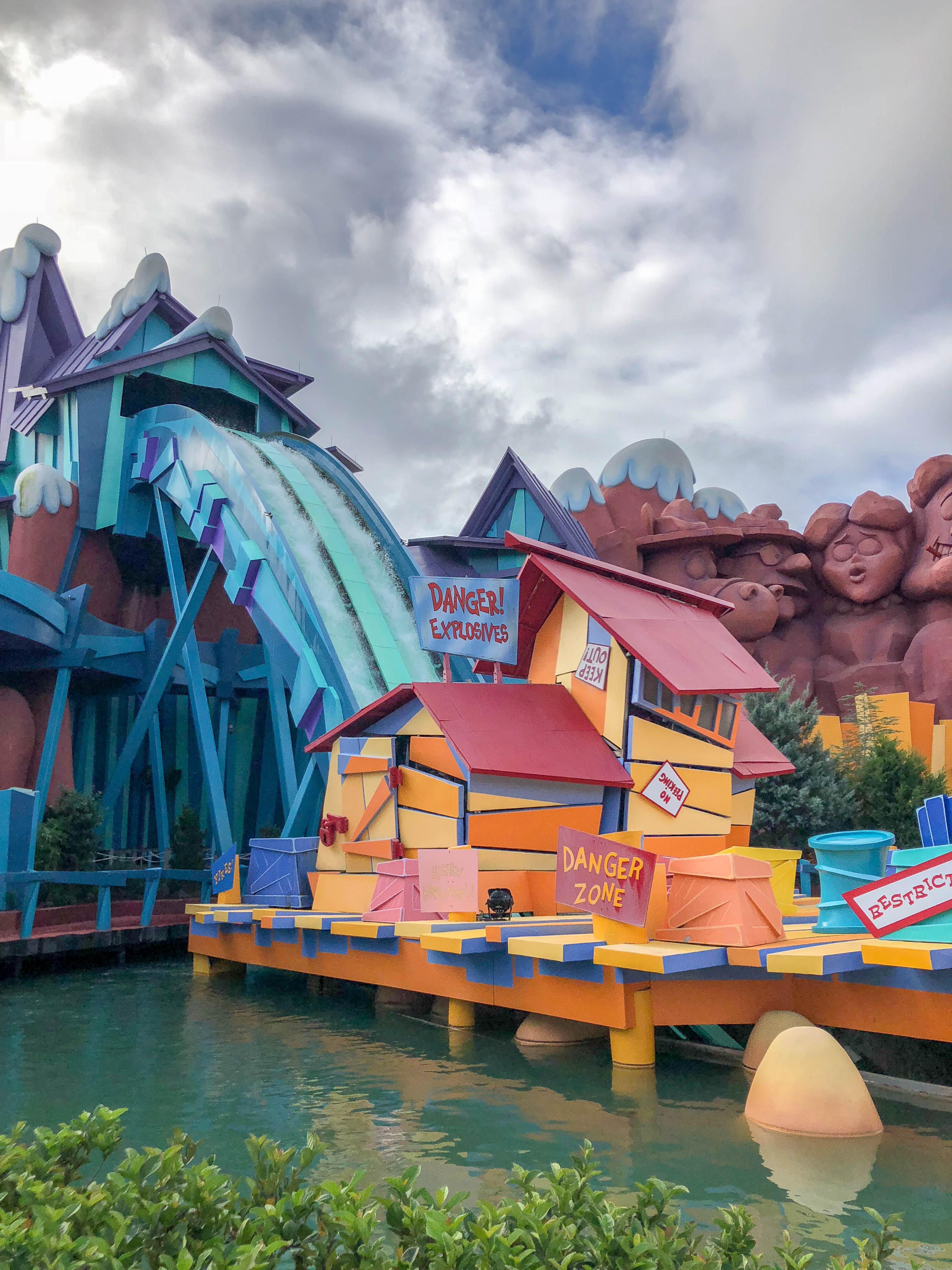 Dudley Do Right Ripsaw Falls Universal Islands Adventure Odysight