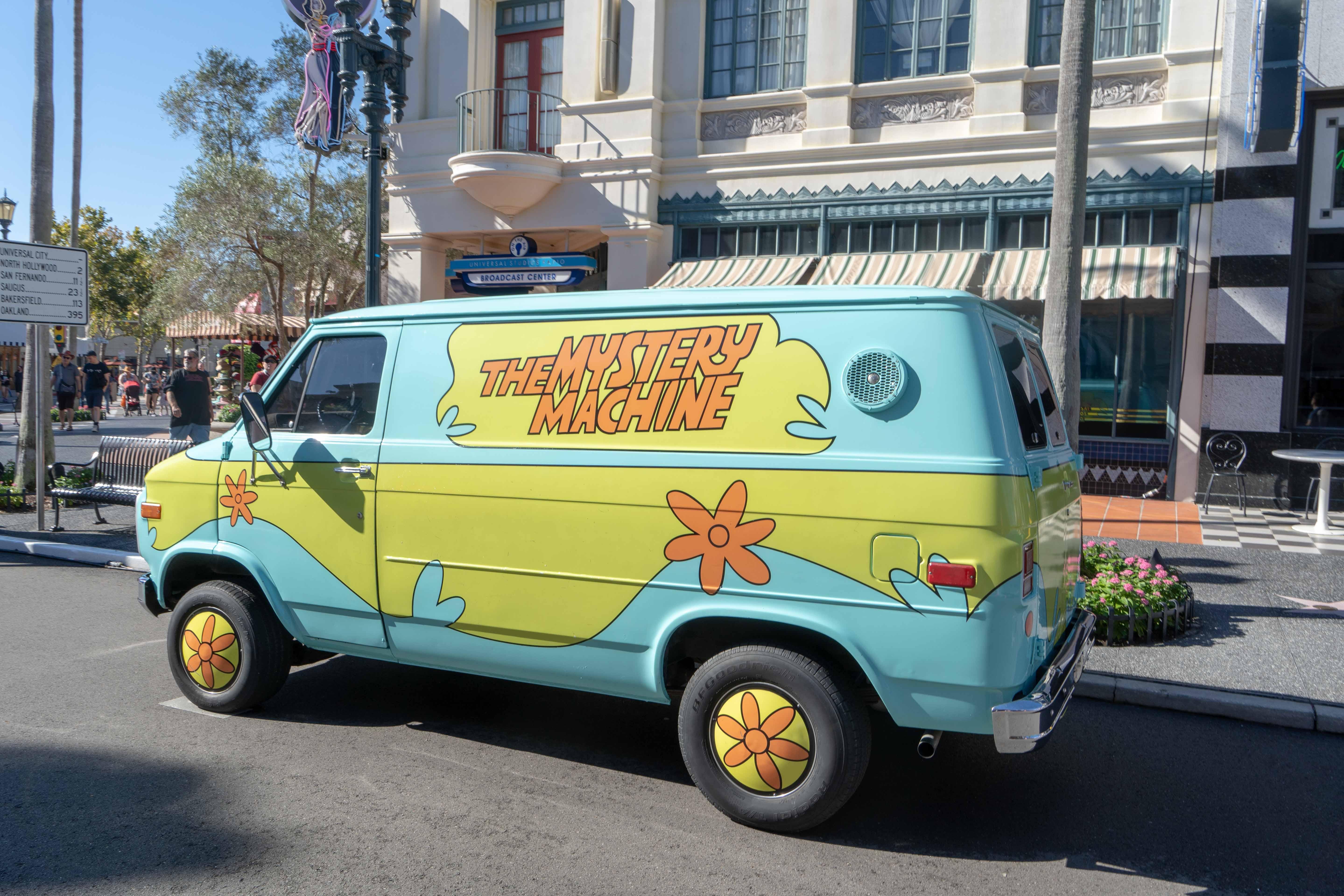 The Mistery Machine Universal Studios Florida