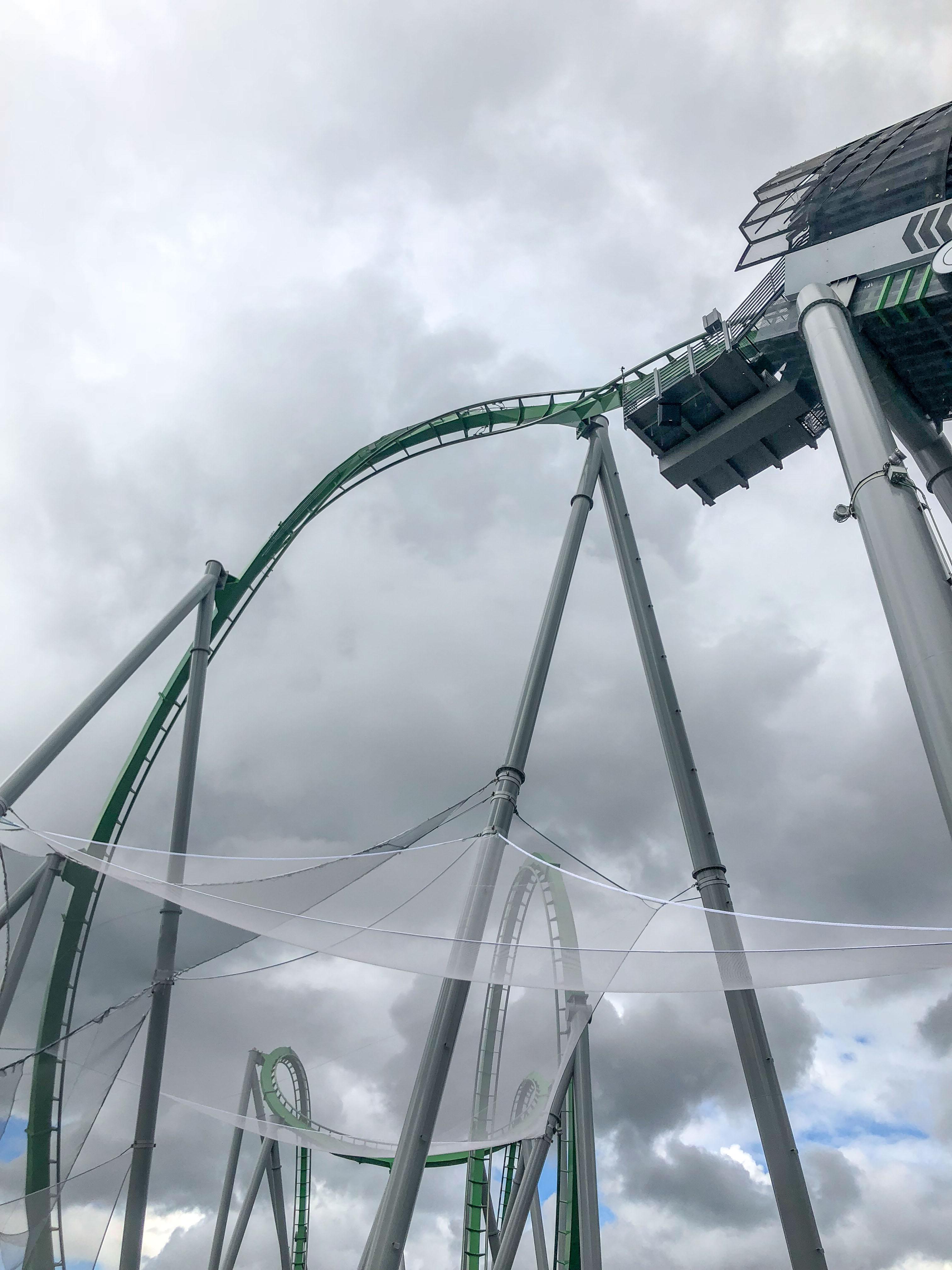 The Incredible Hulk Coaster Universal Islands Adventure Orlando