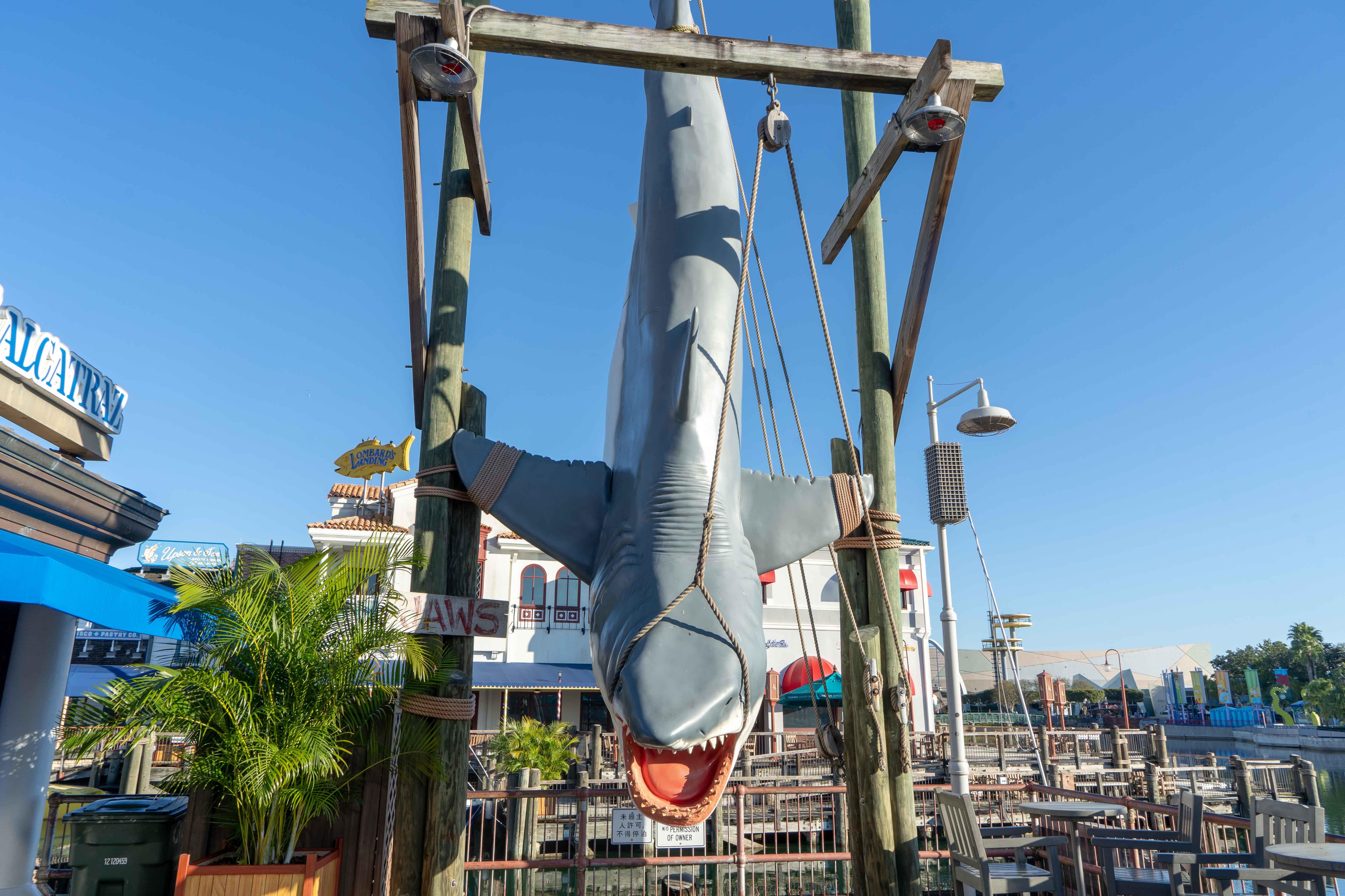 Jaws San Francisco Universal Studios Florida Orlando