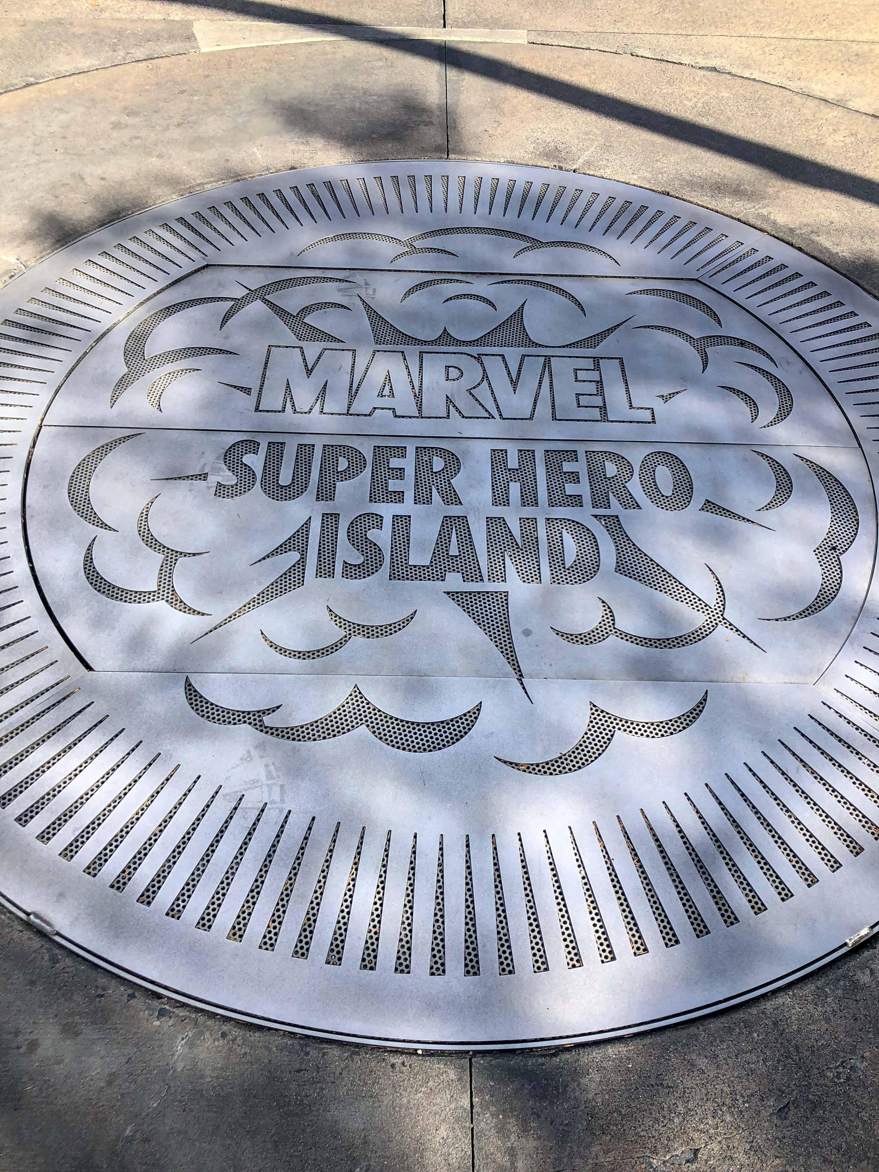 Marvel Super Hero Island Universal Islands Adventure Orlando