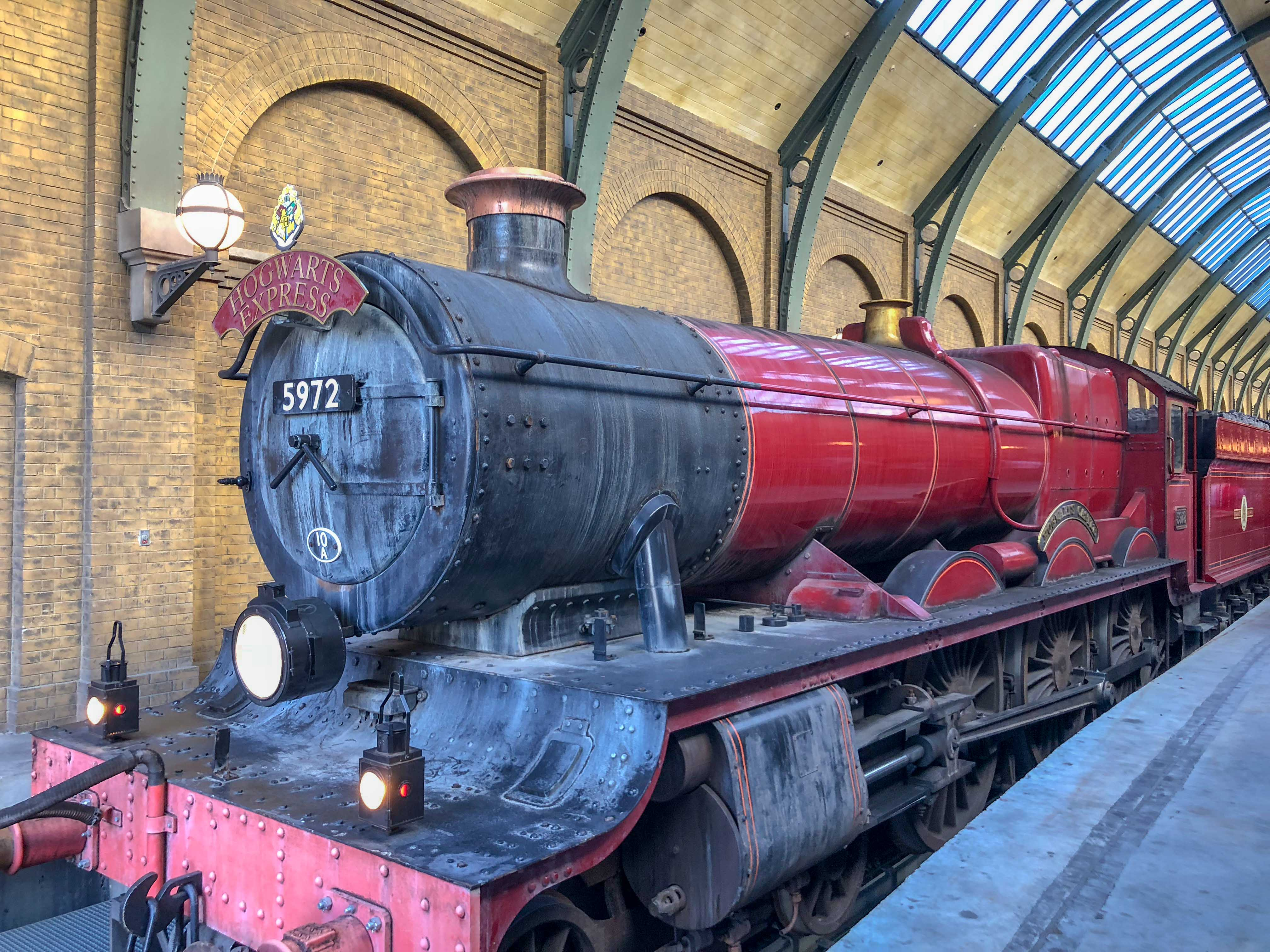Poudlard Express Wizarding World Harry Potter Orlando