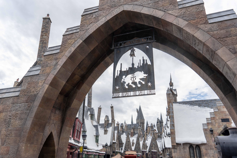 Pré au Lard Harry Potter Monde Magique Universal Studios Orlando