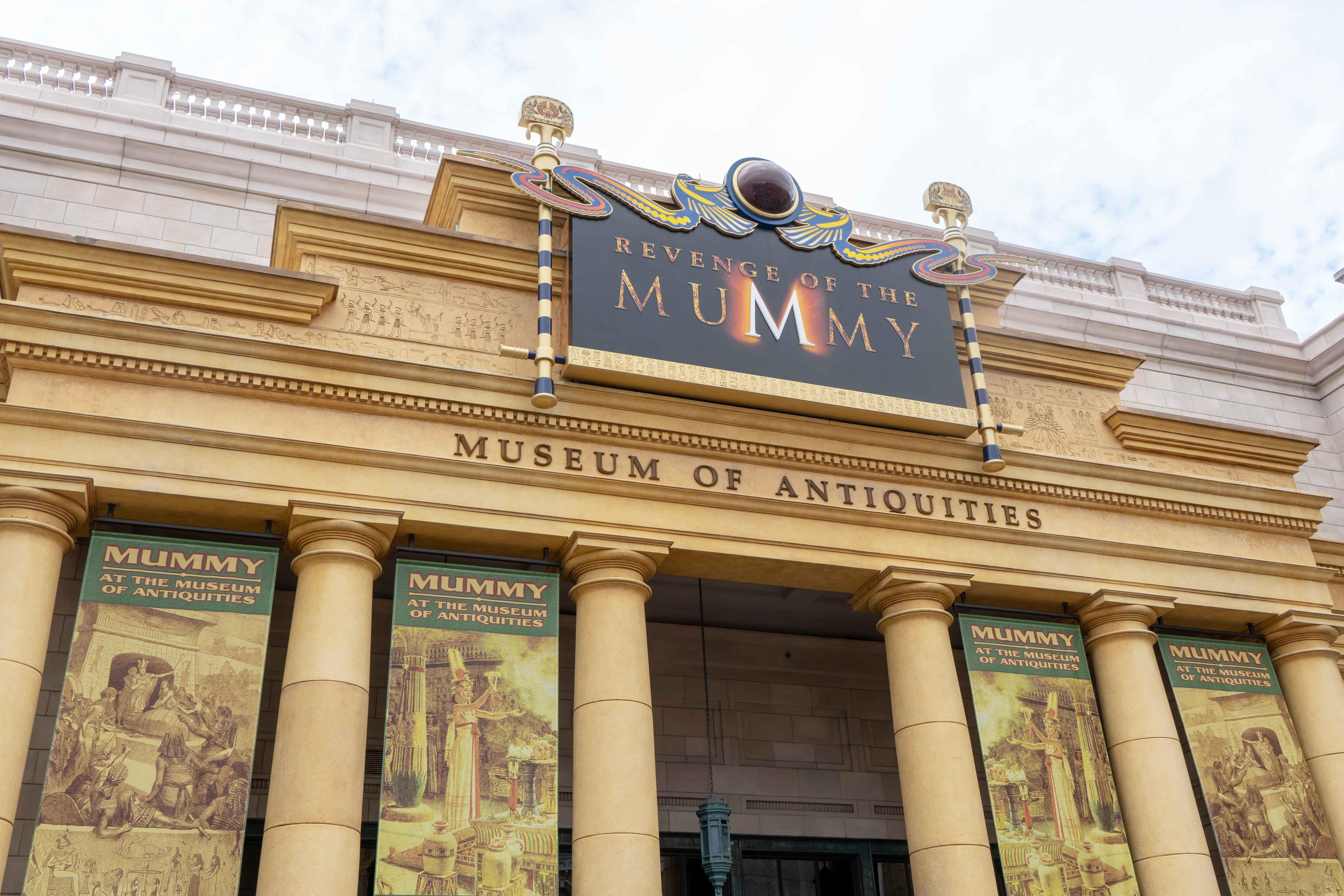 Revenge of The Mummy Universal Studios Florida Orlando