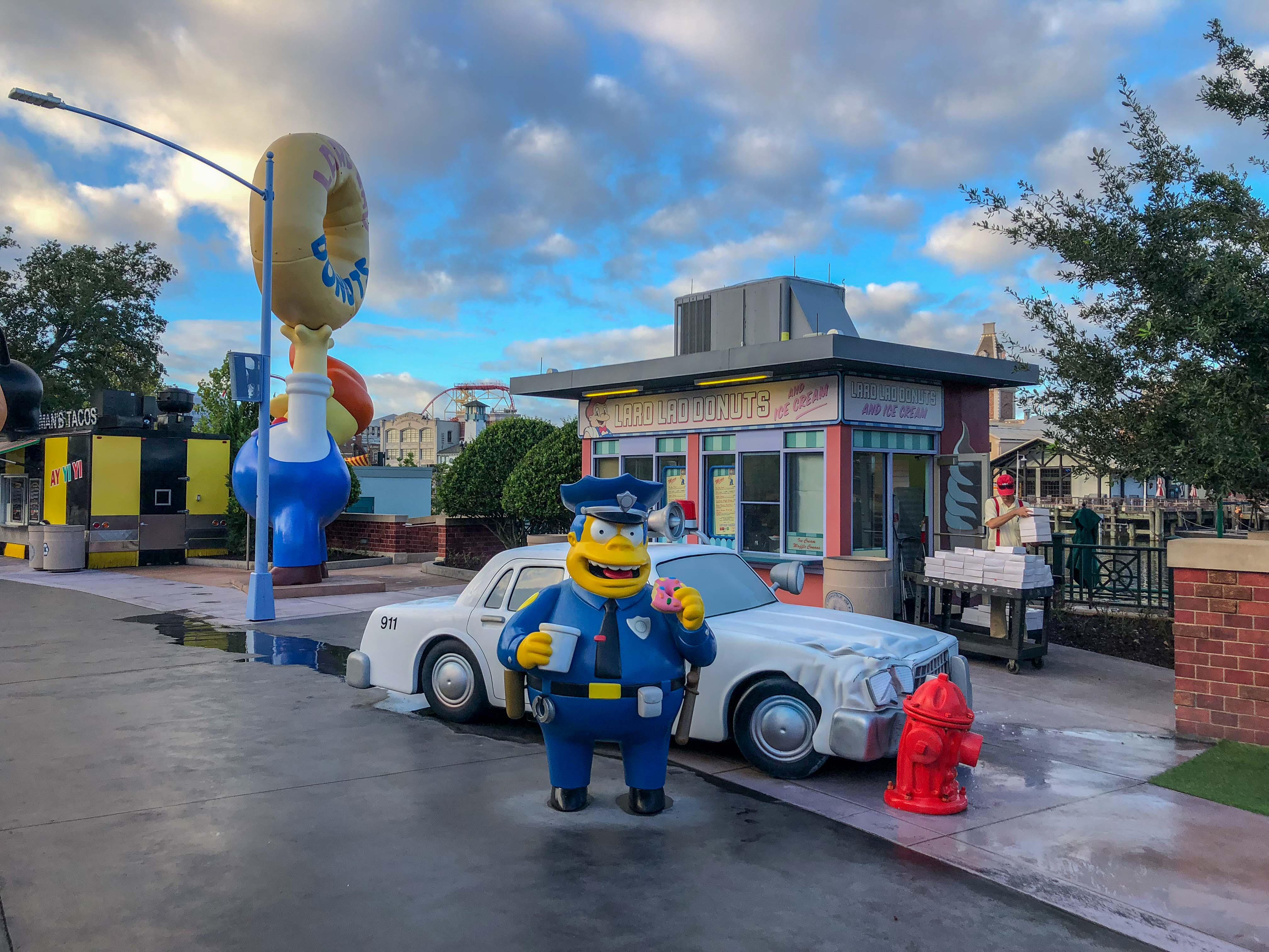 Springfield Home of the Simpsons Universal Studios Florida