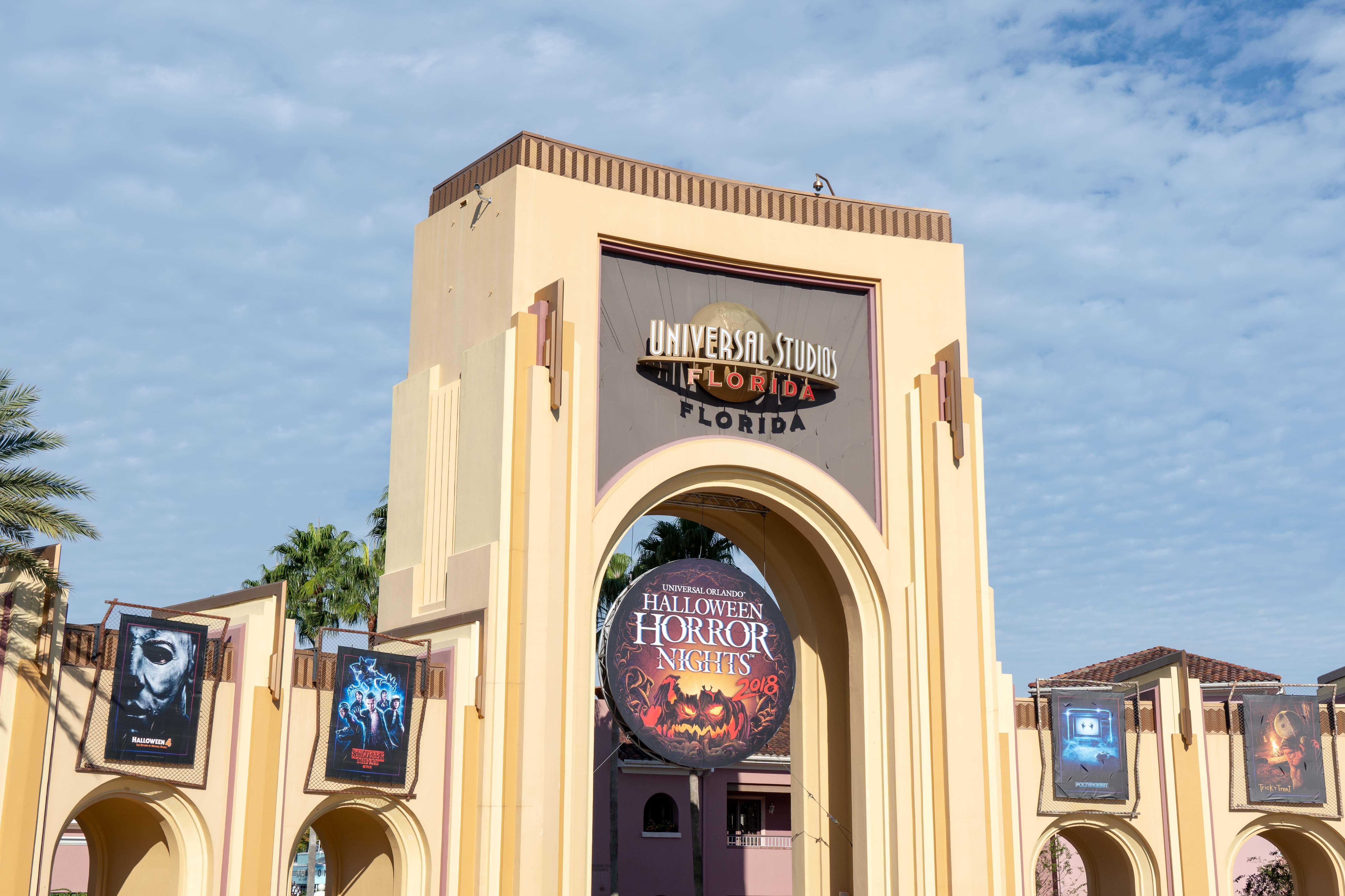 Visiter Universal Studios Florida Entrance Gate Park