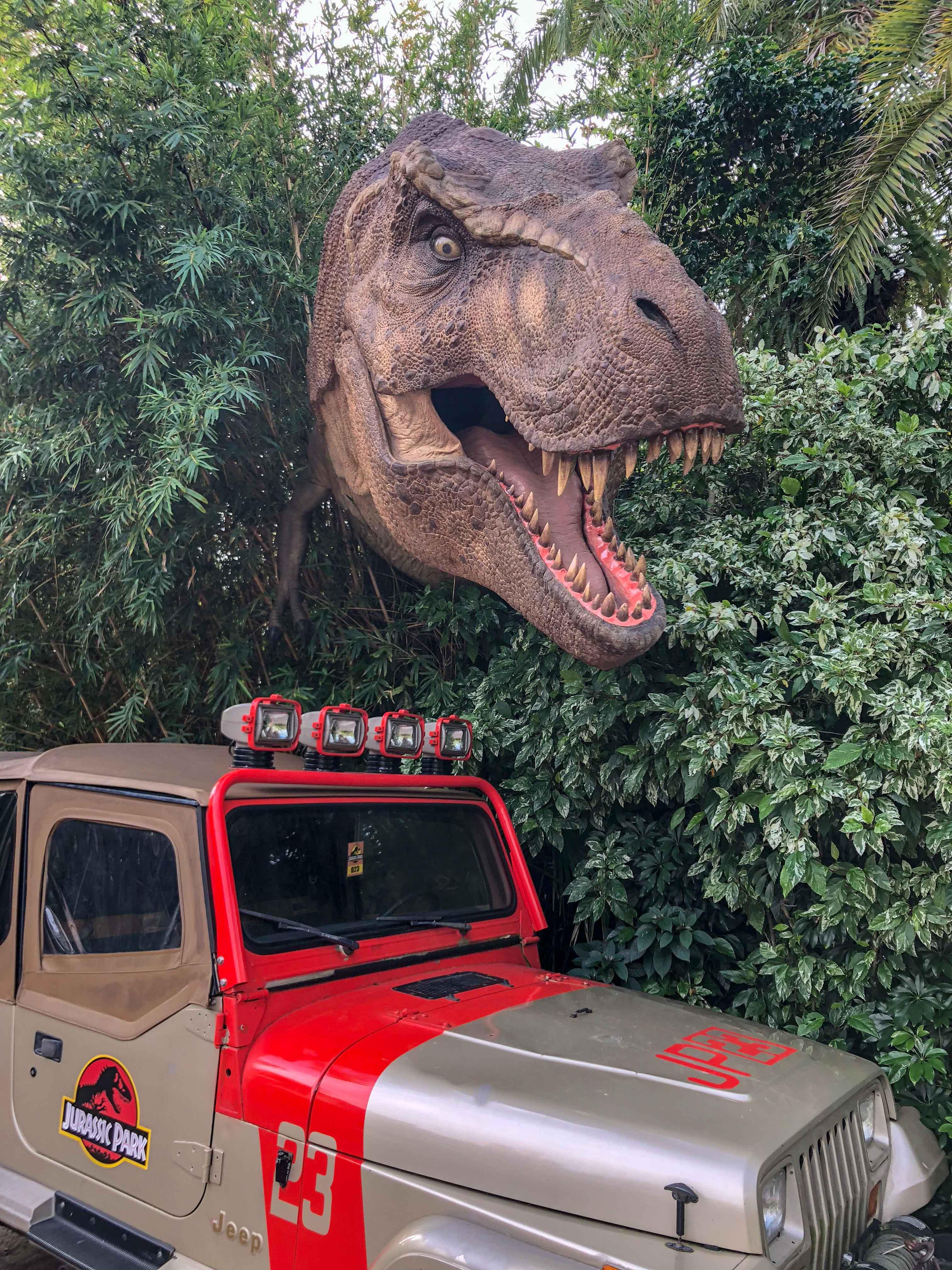Jurrasic Park Universal Islands Adventure Orlando Odysight