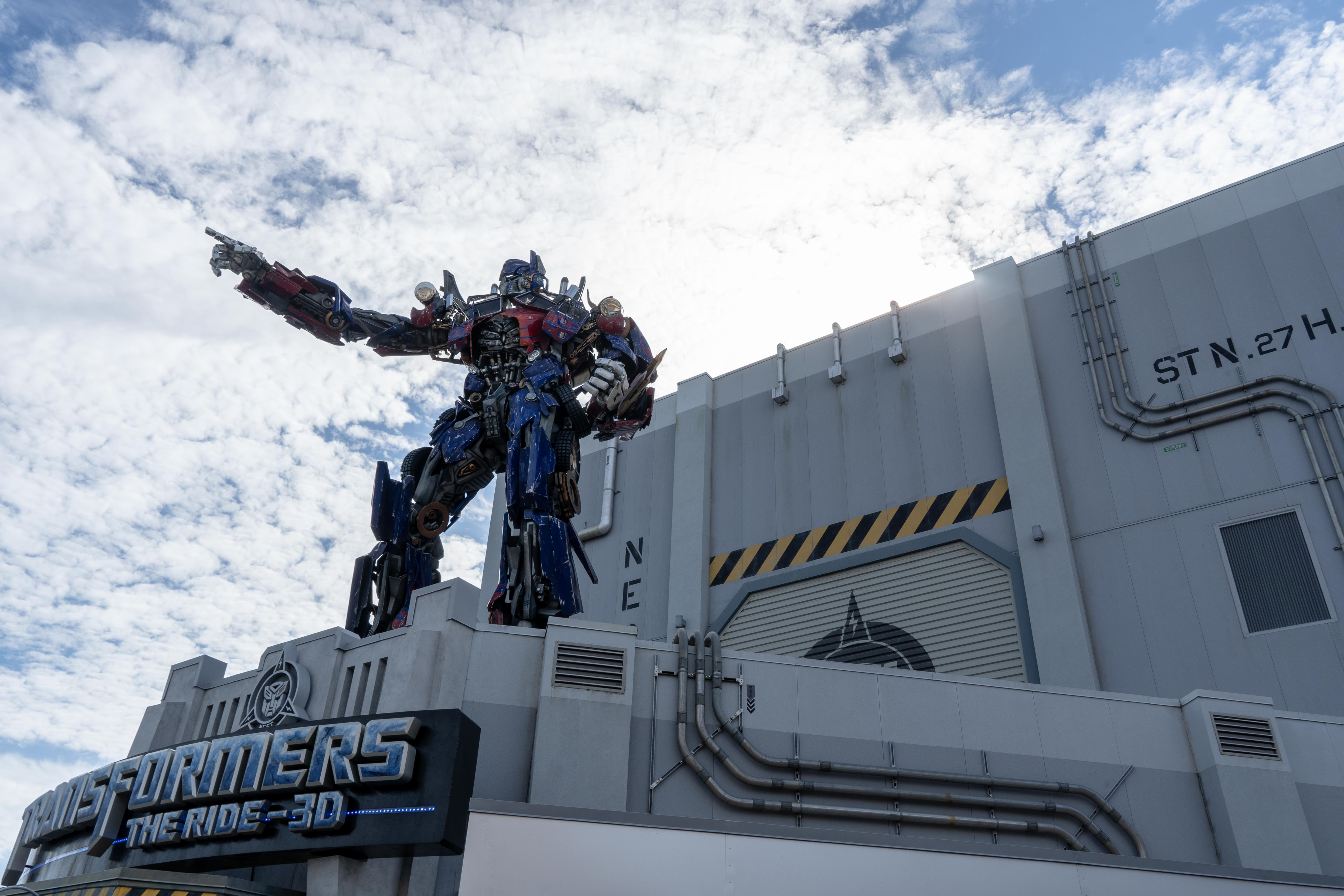 Transformers The Ride Universal Studios Florida Odysight