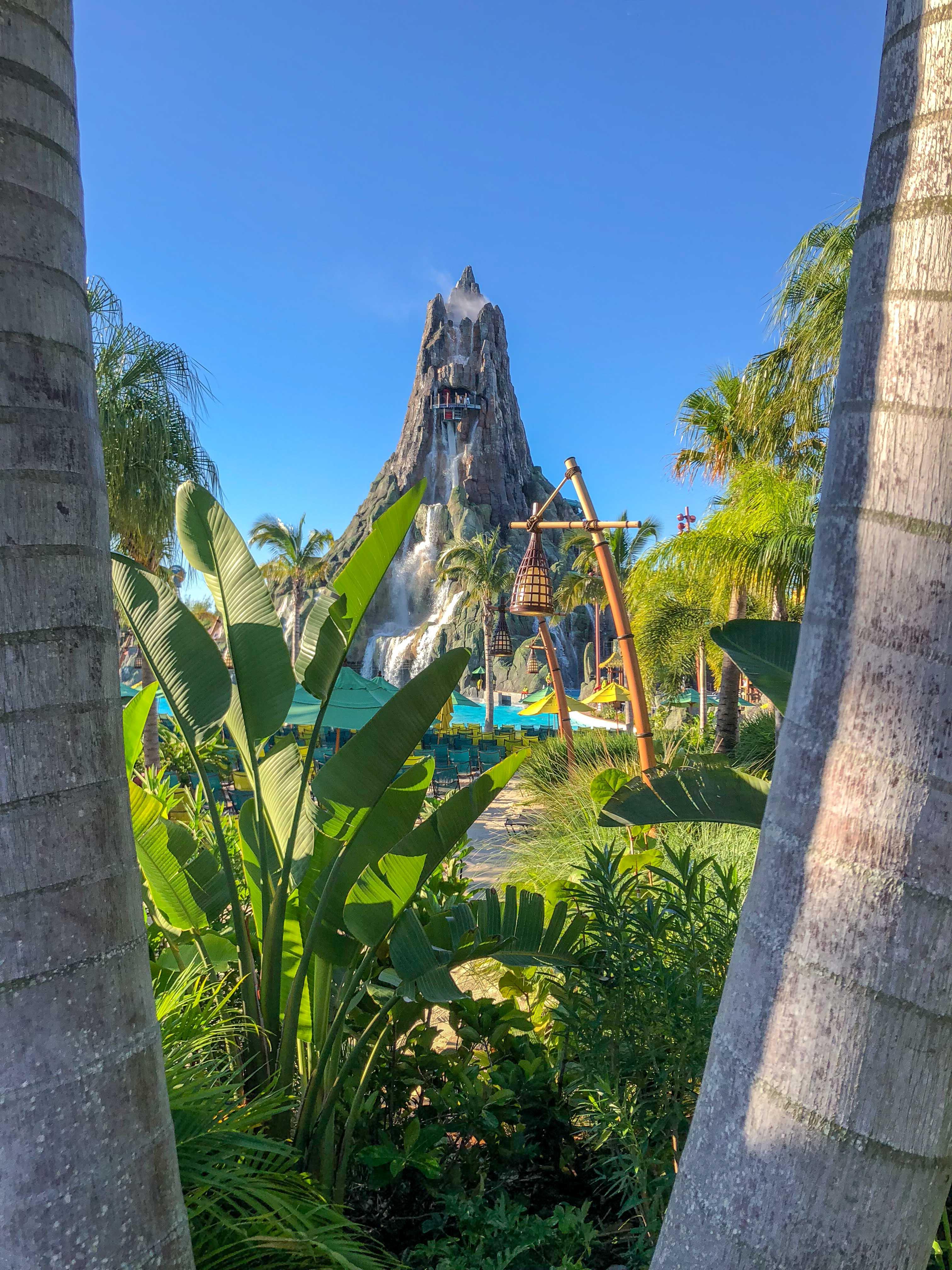 Krakatau Universal Volcano Bay Water Theme Park Orlando