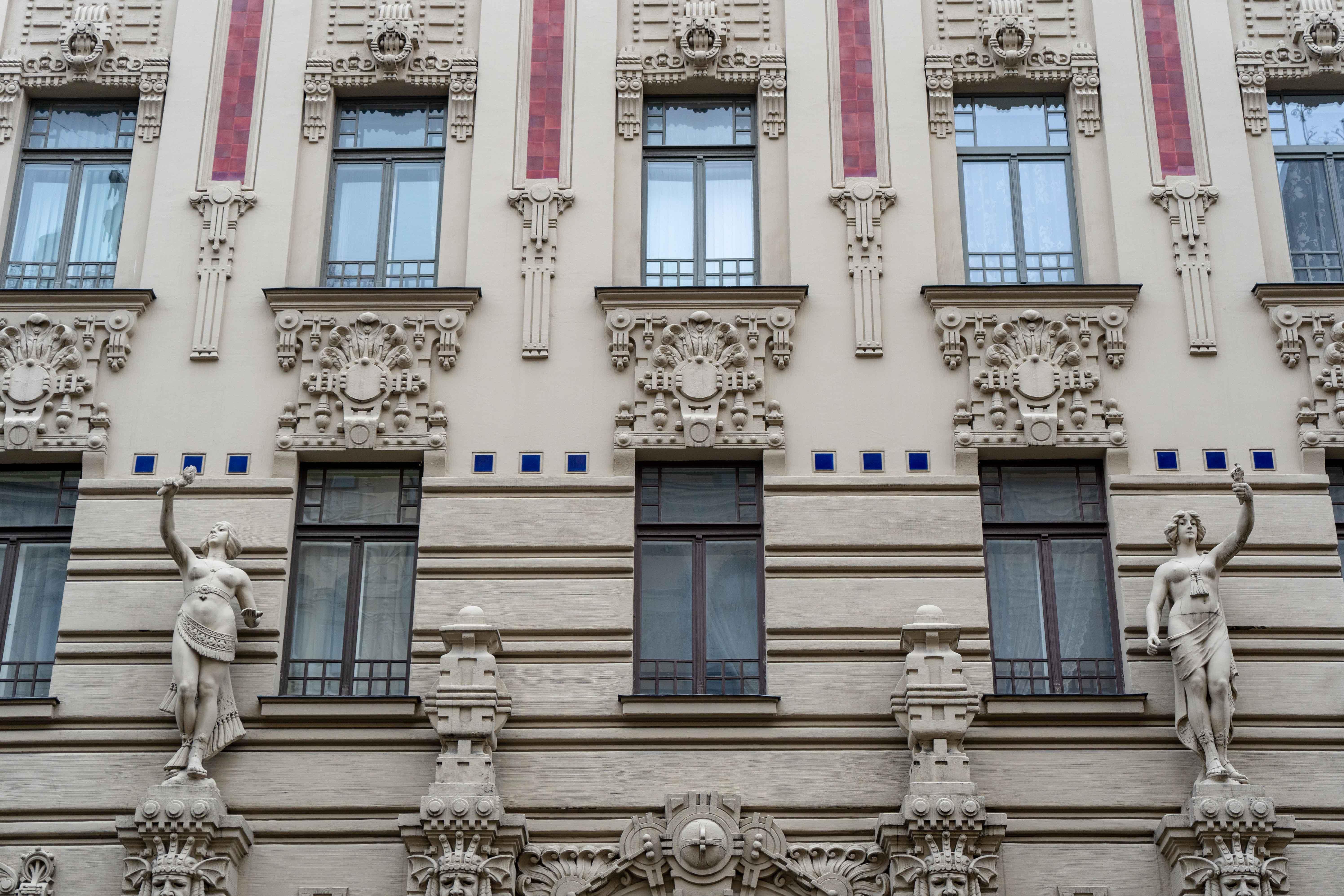 Alberta Iela Architecture Art Nouveau Visiter Riga Odysight Blog Voyage