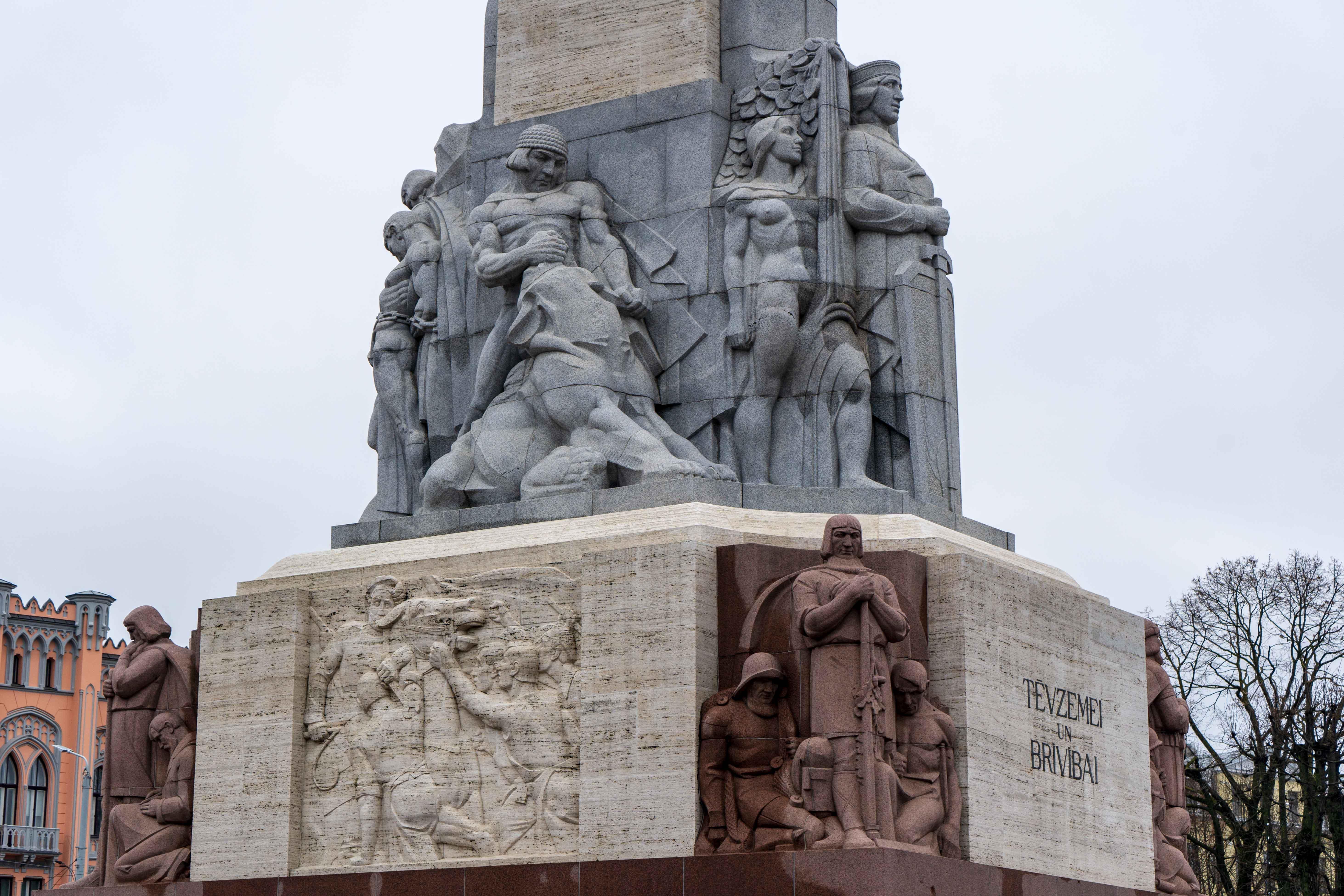 Monument Liberté Visiter Riga Citytrip Blog Voyage