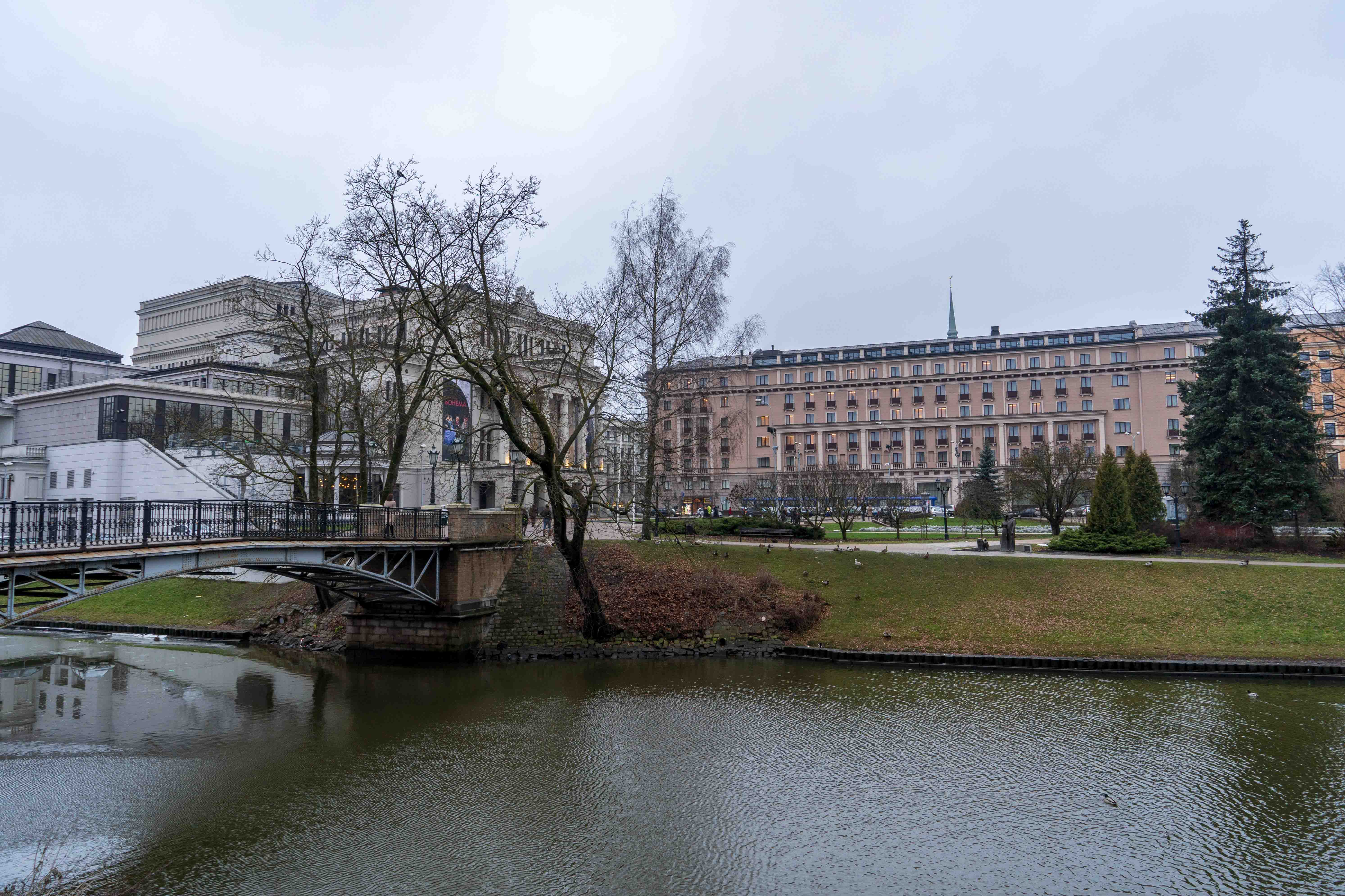 Opera National Riga Centre Visiter Lettonie