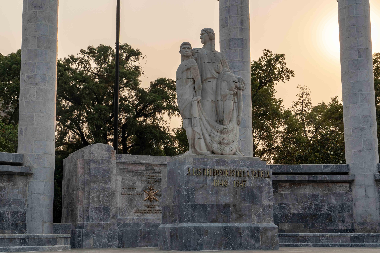 Monument Altar a la Patria dans le Bois de Chapultepec.