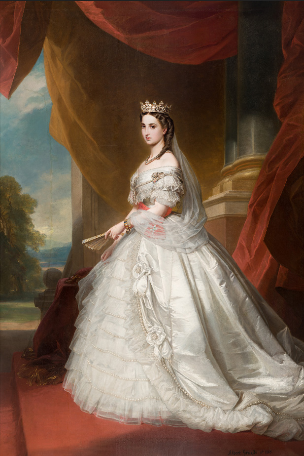 L'Impératrice Charlotte du Mexique. Princesse de Belgique et Archiduchesse d'Autriche.