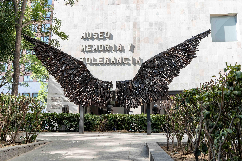 Sur Plaza Juarez, dans le centre historique de Mexico City, on trouve également le Musée de la Mémoire et de la Tolérance.