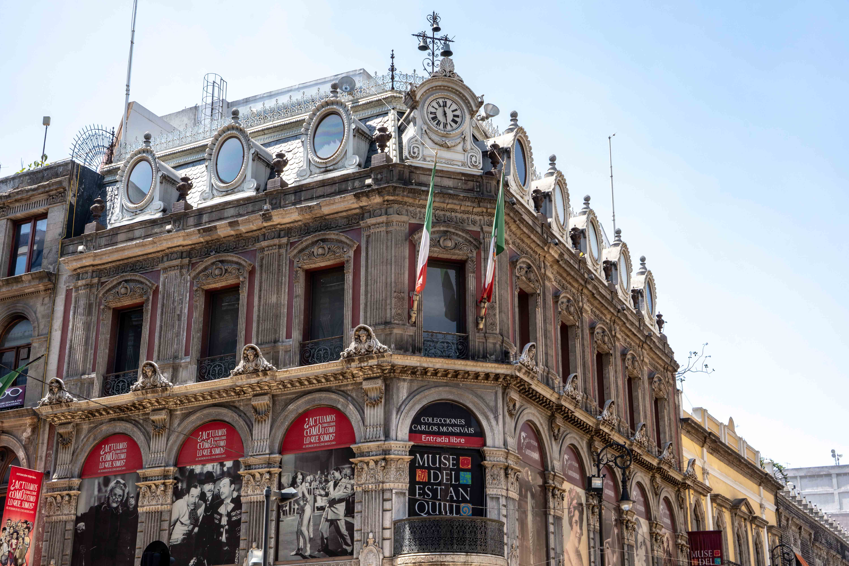 Le Museo del Estanquillo sur la Calle Francisco I Madero dans le centre historique de Mexico City.