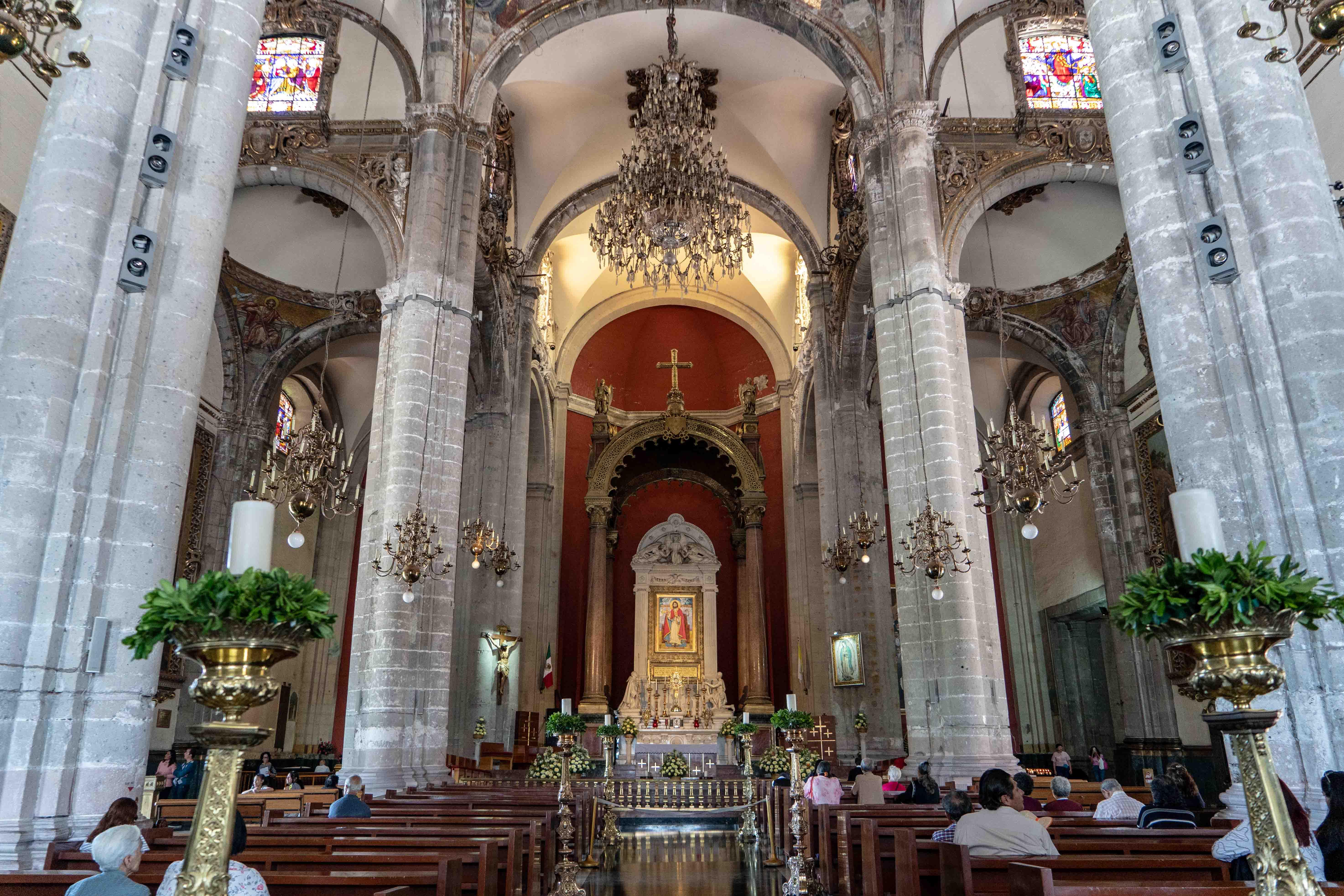 Le Temple expiatoire du Christ Roi sur la Plaza Mariana de Mexico City.